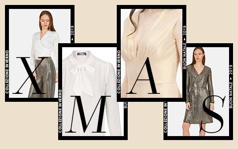 Elegantes Outfit in Schwarz und Gold für ein stilvolles