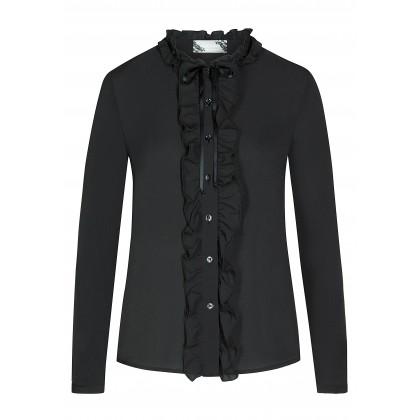 Stilvolle Bluse SOPHIE mit Rüschendetails /