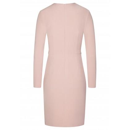 Stilvolles Kleid MARIE mit eleganten Samt-Details /