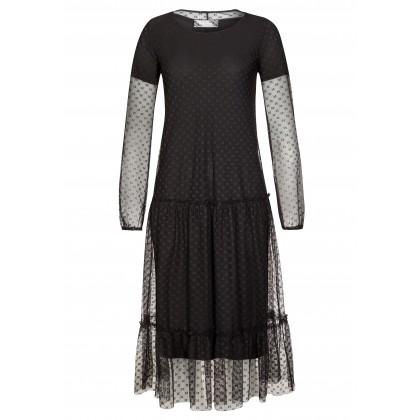 Romantisches Spitzenkleid LUISA mit elegantem Unterkleid /