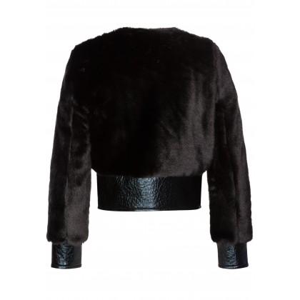 Stilvolle Jacke LISA in eleganter Kunstpelz-Qualität /