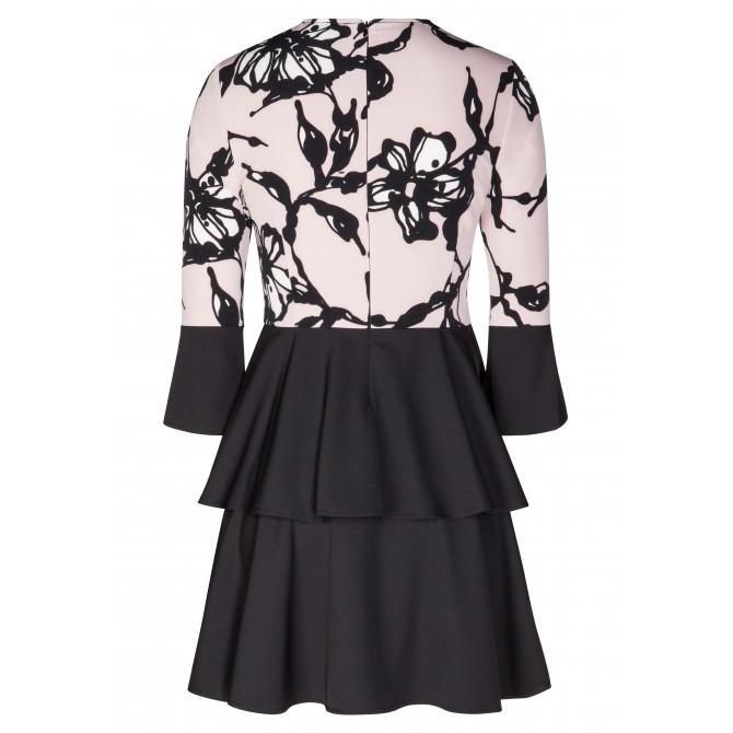 Bezauberndes Kleid MATHILDA mit eleganten Volants /