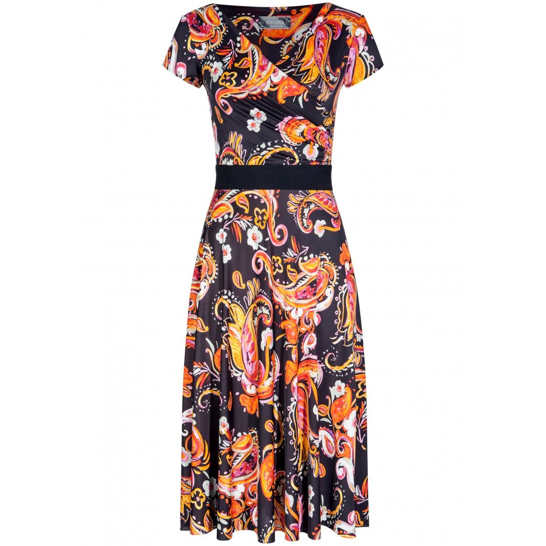 Feminines Kleid ANNIKA mit stilvollem Allover-M...