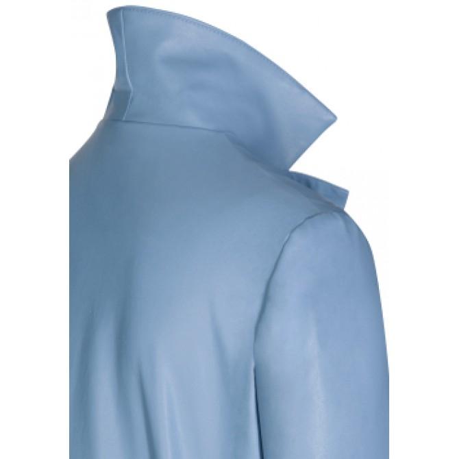 Modische Jacke EDIGE in Leder-Optik /