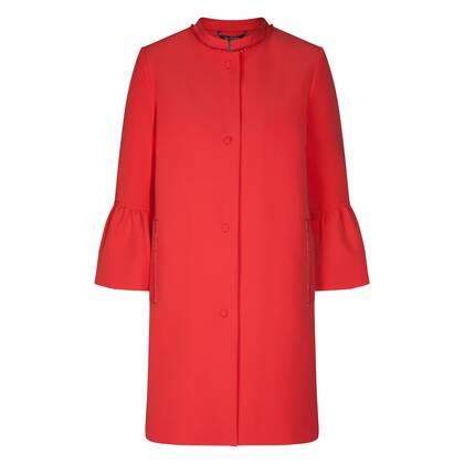 Stylish coat OSITA with elegant details /