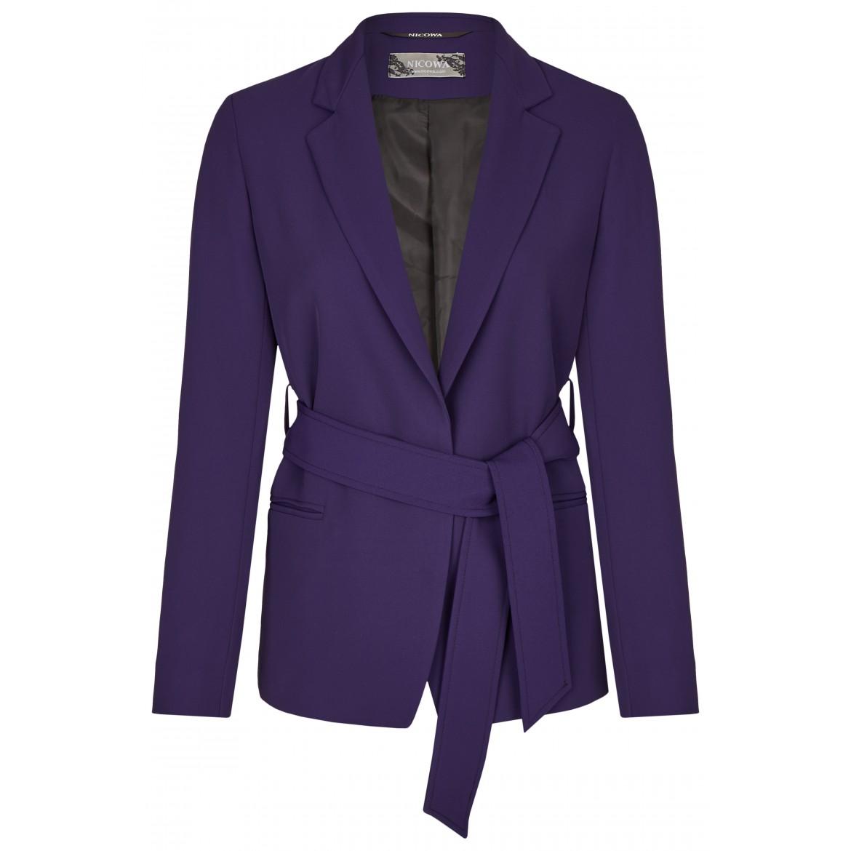 NICOWA – Eleganter Blazer OSTANA mit Bindegürtel