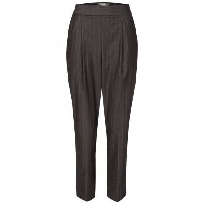 NICOWA - Noble pinstripe pants OTERZA with straight leg /