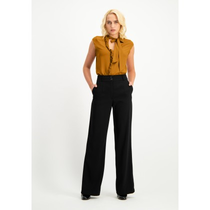 Classic pants NOFIOVA with wide leg /