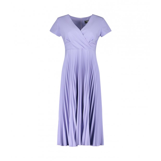 Midi-Kleid ADIANA mit Plisseerock /
