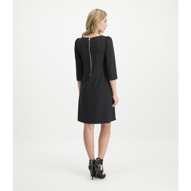 Schmales Kleid COLOANA mit Nietenbesatz /