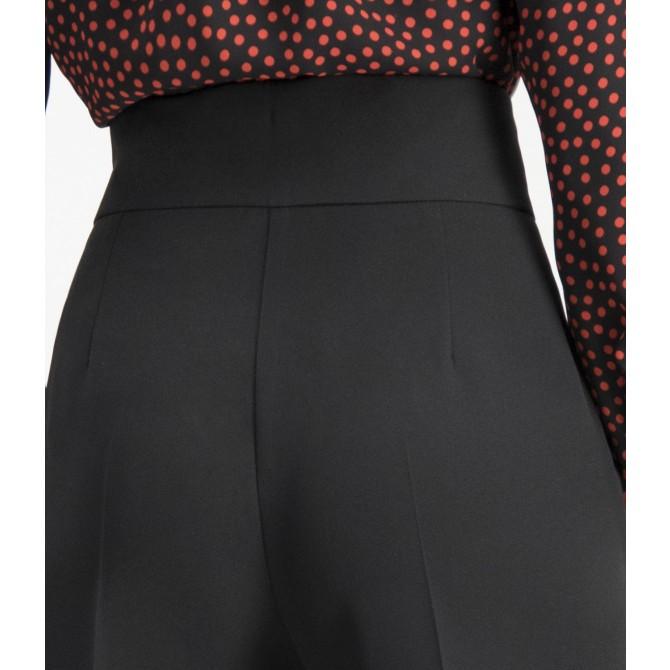 Weite Hose mit unifarbenem Design – COREANA /