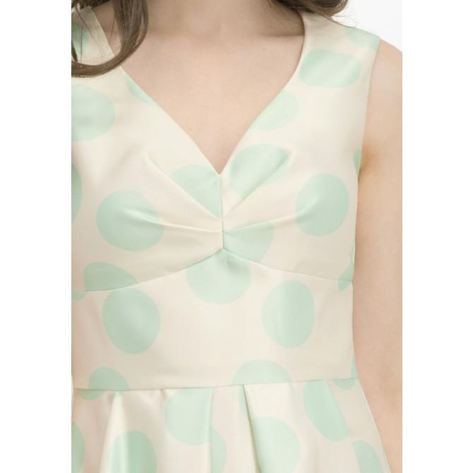 Feminines Kleid ERALDA mit Punkte-Dessin /