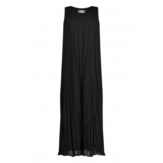 Plisiertes und elegant fließendes Kleid NILIANA /