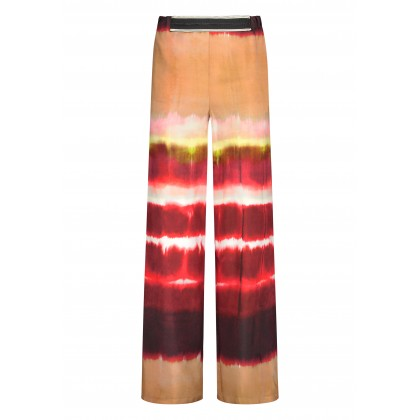Casual ANELLA trousers with tie-dye pattern /