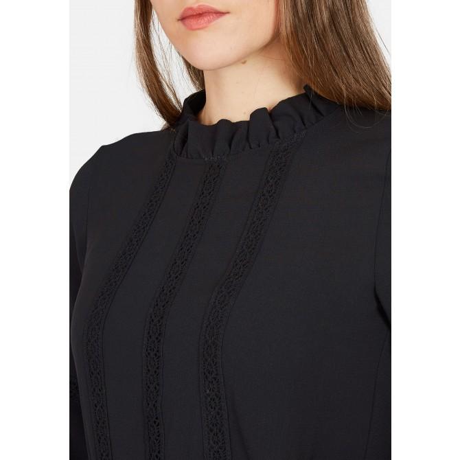 Mini-Kleid mit Volants und Blumenprint - NIFLORO /