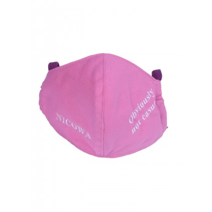 Premium protective mask with embroidery /