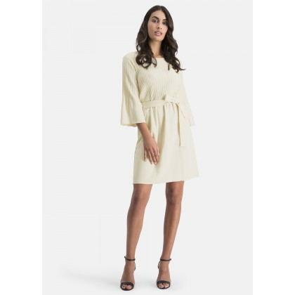 Kleid mit Bindegürtel – ADINO /