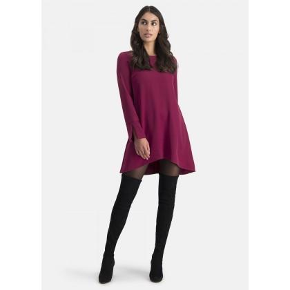 Kleid mit asymmetrischem Saum – AMICA /