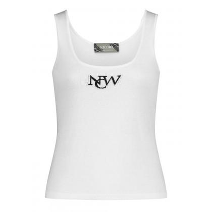 Tank-Top mit NCW-Stickerei – LOVONO /